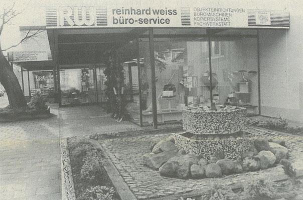 1988 - Blick auf das Firmengebäude
