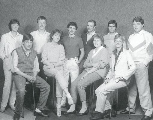 1985 - Das damalige Team