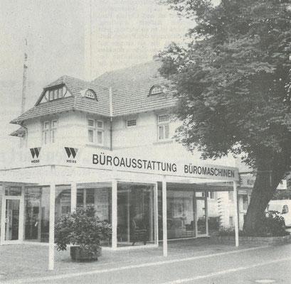 1996 - Unternehmensstandort in der Peterstraße 15 nach der Modernisierung