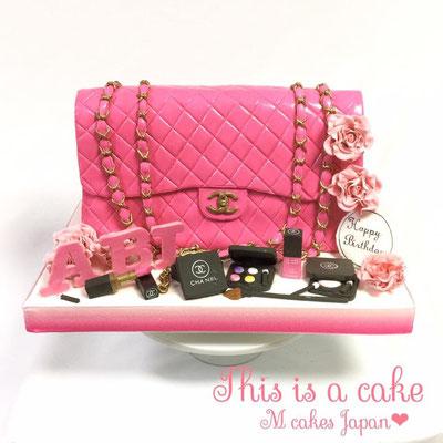 3Dケーキ オーダーケーキ ファション バッグ