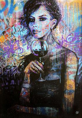 <b>THE SOUL OF WINE</b><br><br>80 x 56 cm<br>VENDU