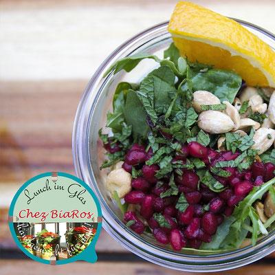 Bulgur-Salat mit Kichererbsen und Ras-el-Hanout