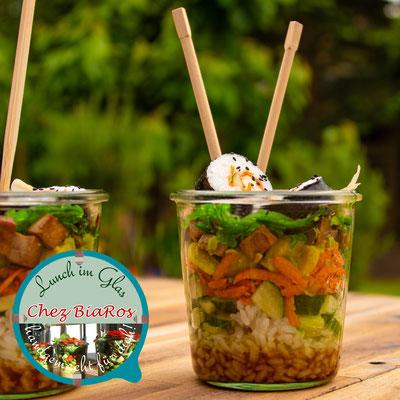 Sushi Salat mit Wakame
