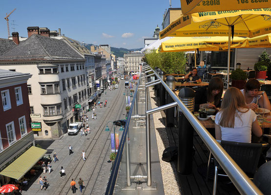 Landstraße Linz art apartment Linz 1 min Fußweg