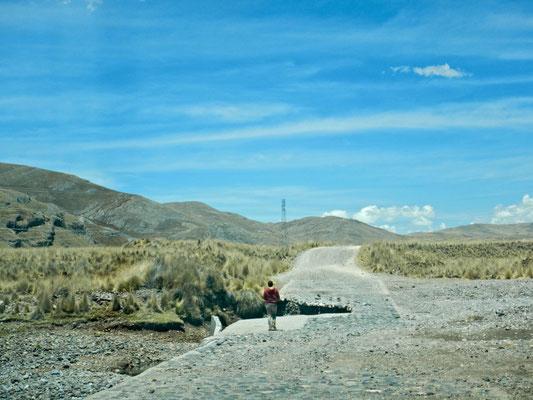 Perus Strassen, immer für eine Überraschung gut
