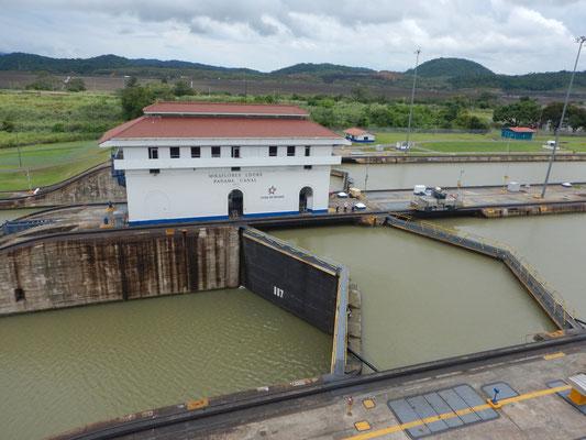 Mirafloresschleusen Panamakanal