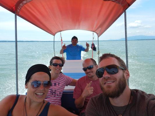 Bootsausflug nach Livingston entlang des Rio Dulce