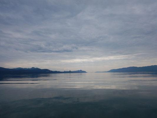 Lake Laberge - endlich geschafft