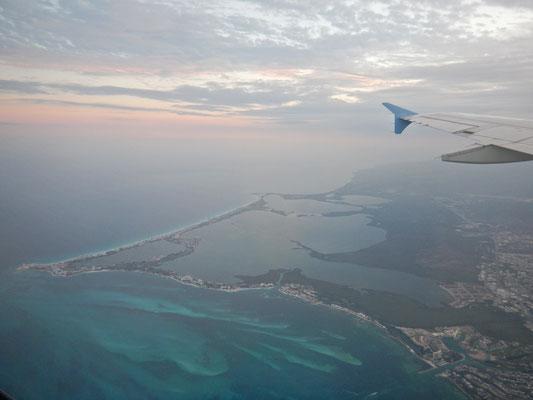 Zurück nach Cancun