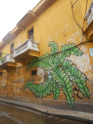 Graffitis-überall präsent in Cartagena