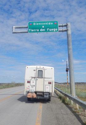 Tierra del Fuego-Feuerland ist erreicht!