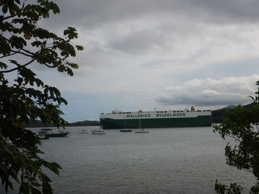 Mit einem solchen Frachter wurde Hägar verschifft