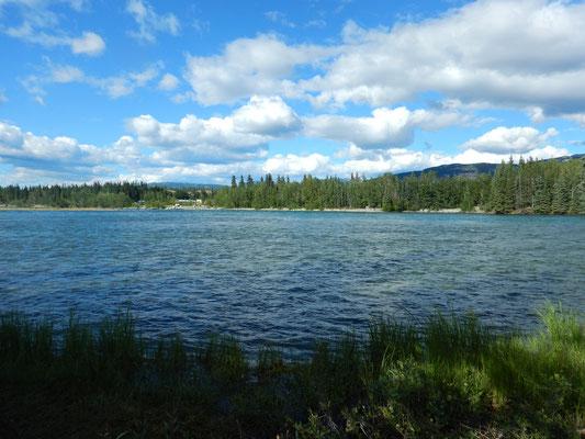 Unser Zuhause für die Nächsten Wochen - Yukon river