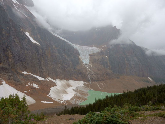 Edith Cavell Glacier Jasper NP