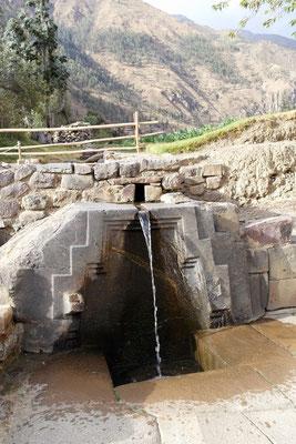 Brunnen und ausgeklügelte Bewässerungssysteme