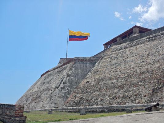 Fort Castillo San Felipe-von Sklaven mühsam erbaut