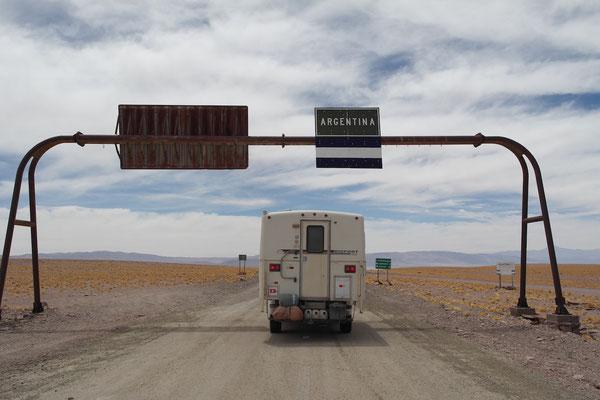 Grenzübergang Argentinien