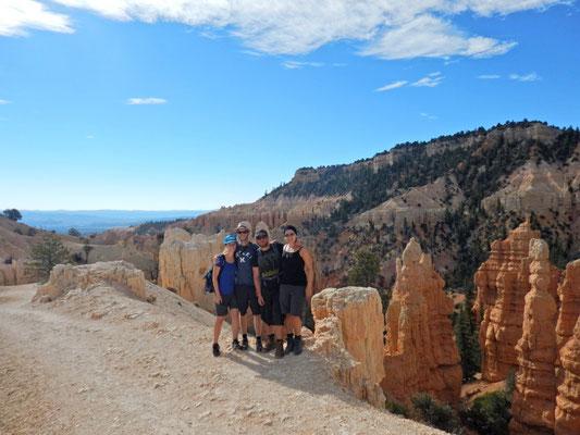 Wanderung im Bryce Canyon