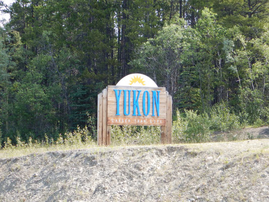 welcome to Yukon Territory