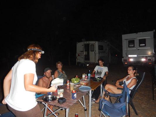 Traveler Grillplausch auf der Finca Canas Castillas