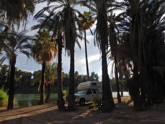 Gemütlicher Schlafplatz in San Ignacio