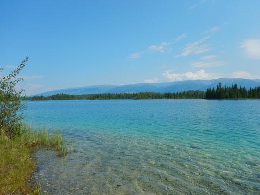 Am wunderschönen Boya lake