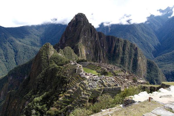 der berühmte Machu Picchu