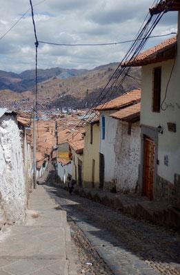 schöne Gässchen in Cusco