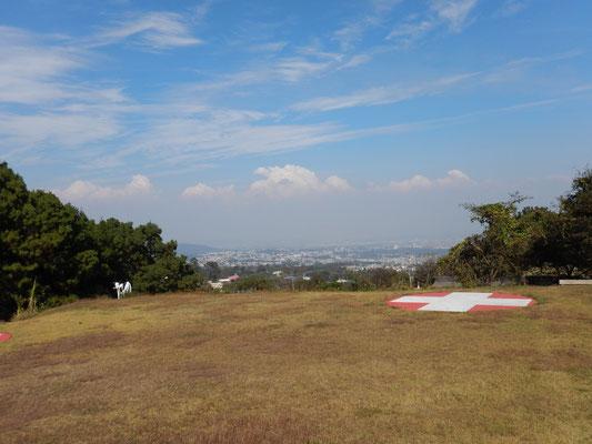 Blick auf Guatemala City