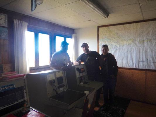 bei den Schiffsverkehrsüberwachung