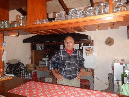 Heinz, der Besitzer vom Paraiso Suizo, hier leider ohne Silvia
