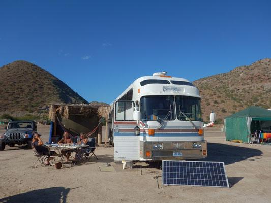 Bei Monika und Rico mit ihrem tollen Eagle Bus