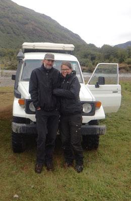Alex und Katrin mit Jolly Jumper