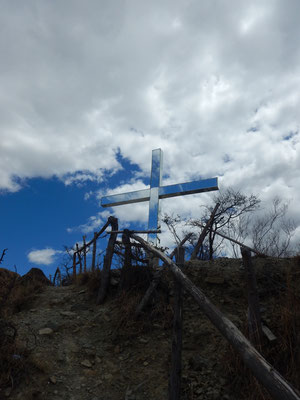 nicht nur in der Schweiz gibt es Gipfelkreuze