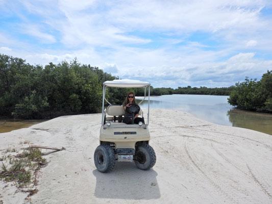 Unser 4x4 Golfcart