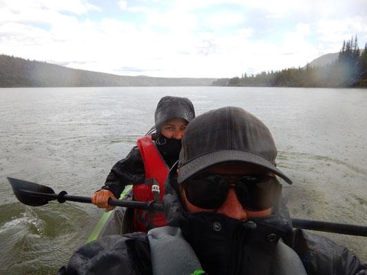Typisches Yukonwetter