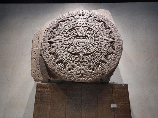 Aztekische Sonnenscheibe