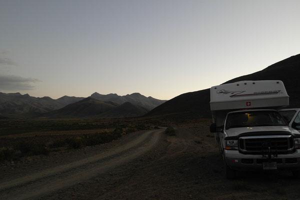 Wildcamp auf dem Altiplano