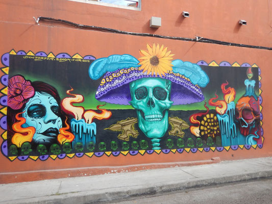 Schrilles, buntes Mexiko