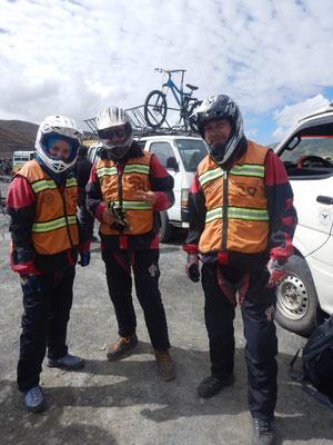 auf dem Paso La Cumbre