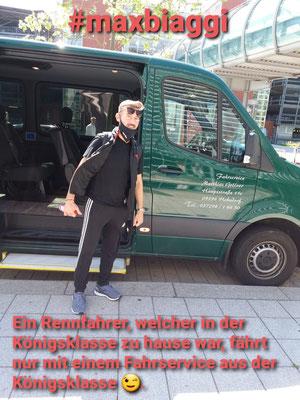Unser Fahrgast vom FH Dresden nach Hot Sachsenring