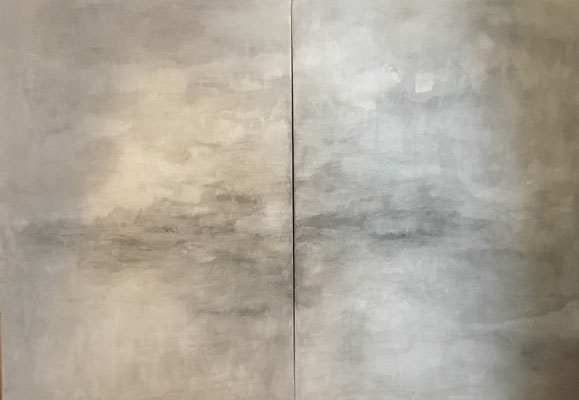 Acryl auf Leinwand 2teilig 140 x 100 cm