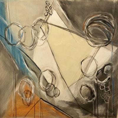 Acryl auf Leinwand 80 x 80 x 4 cm