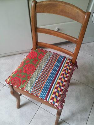 Galettes de chaises après
