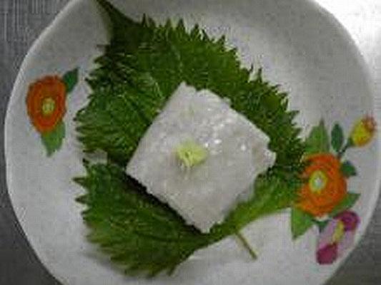 #サトイモ豆腐