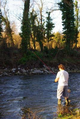 Pêche au petit jour