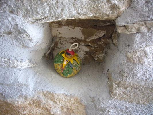 Petite niche, ancien encastrement d'une poutre