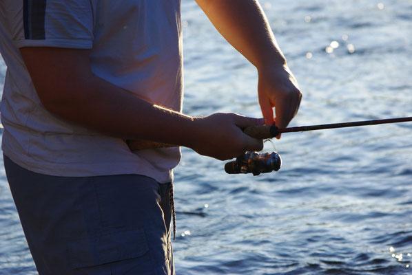 Moulinet et pêche au leurre