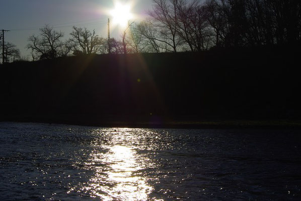 Le soleil se lève sur la Têt