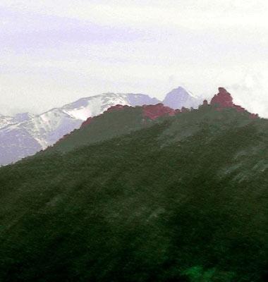 Une colline au même profil que le Canigou à Tarerach